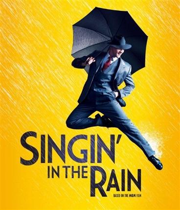 Singin' in the Rain starring Adam Cooper and Scarlett Strallen, Palace Theatre London 5th April 2012