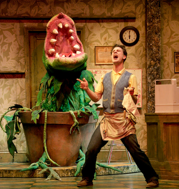a review of little shop of horrors at the lyric opera theatre