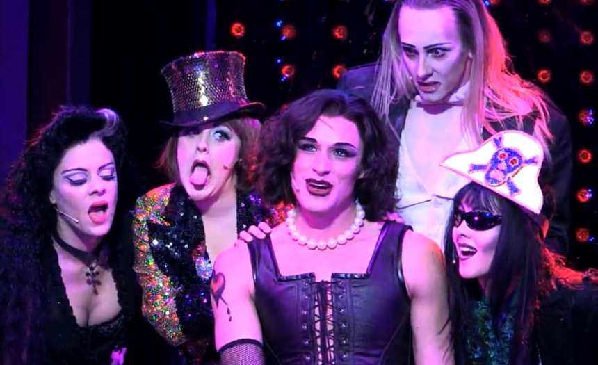 Oliver Thornton Sweet Transvestite Rocky Horror Show