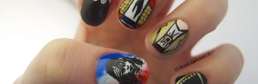 Feature Musical Theatre Nail Art Glasgow Theatre Blog