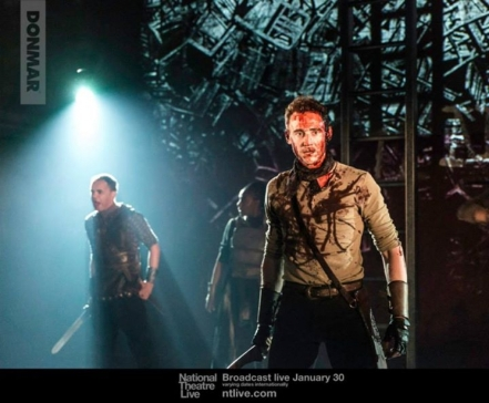Tom Hiddleston NT Coriolanus