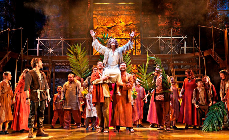 jesus christ superstar edinburgh playhouse tour