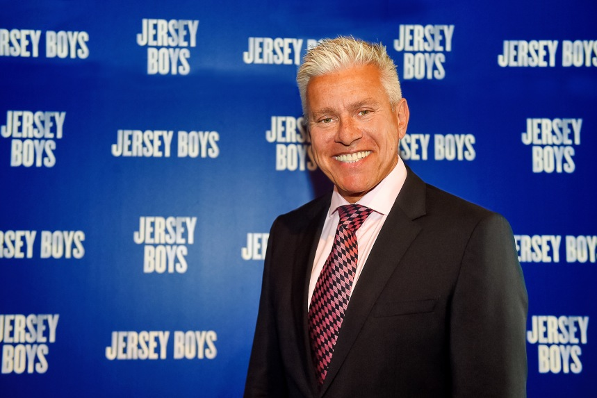 Producer David Ian at the Jersey Boys Glasgow Launch. Credit Ian Watson