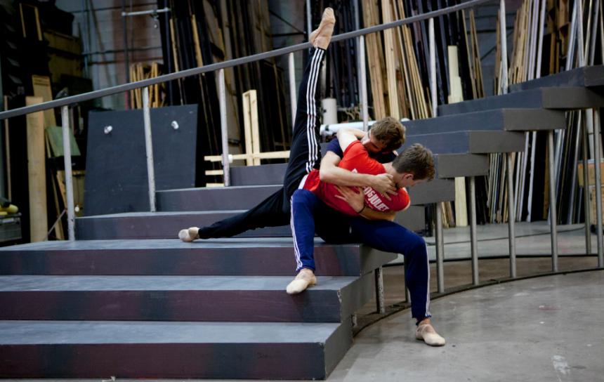 male duet scottish ballet elsa canasta