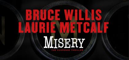 misery broadway logo