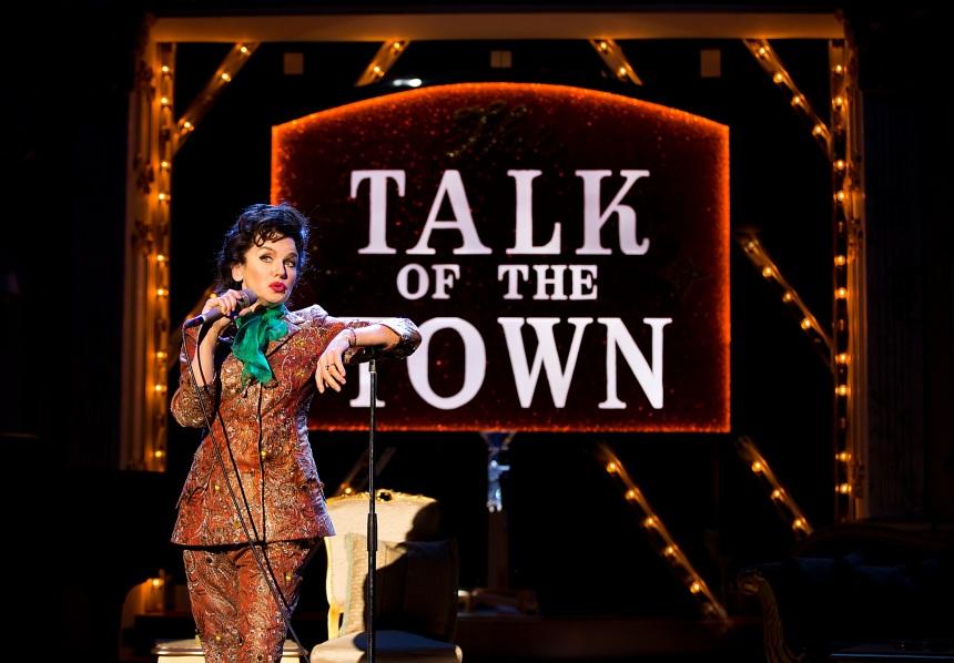 Lisa Maxwell as Judy Garland in End of the Rainbow. Pamela Raith Photography