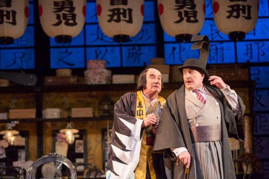 Richard Suart Andrew Shore Scottish Opera Mikado