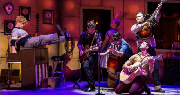 million dollar quartet review glasgow king's theatre