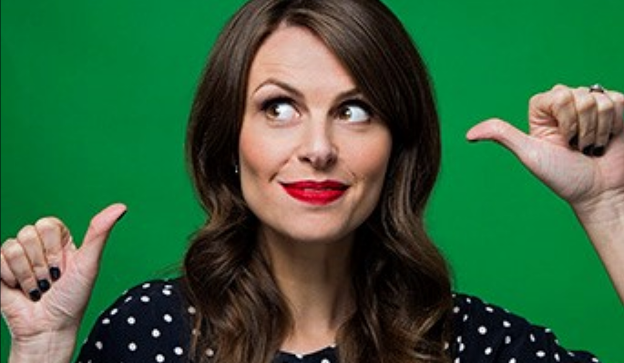 ellie taylor spotted blouse